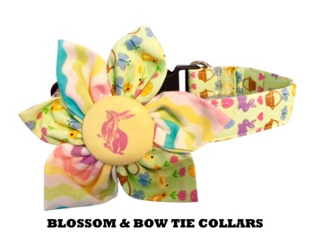 BLOSSOM  BOW TIE COLLARS