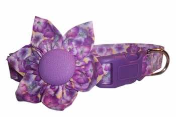 Pasiley Blossom Flower or Bow Tie Collar