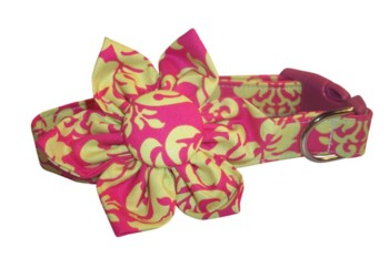 Shasta Blossom Flower or Bow Tie Collar