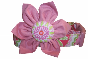 Sally Mae Blossom Flower or Bow Tie Collar