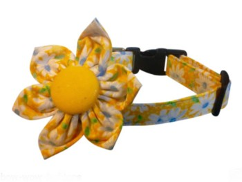 Shadow  Blossom Flower Collar