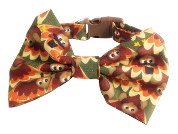 Thanksgiving Bow Tie Collar