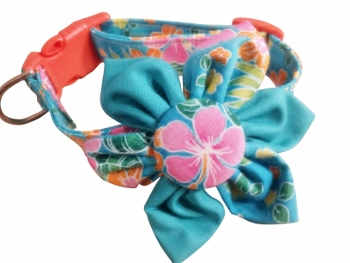 Merri Blossom Flower or Bow Tie Collar