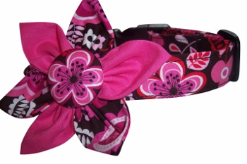 Nellie Blossom Flower or Bow Tie Collar