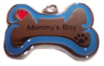 Mommy's Boy Stainless Steel Charm-