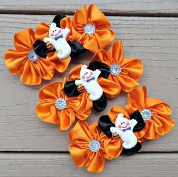 Rosette Flower Halloween