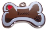 Spoiled Stainless Steel Charm-