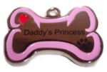 Daddy's Princess Stainless Steel Charm-