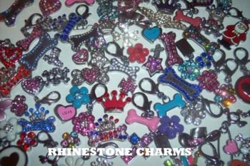 Rhinestone Charms