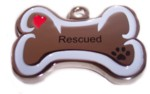 Rescued Stainless Steel Charm-